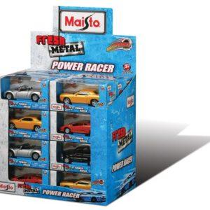 Metalni autić Power Racer 11 cm