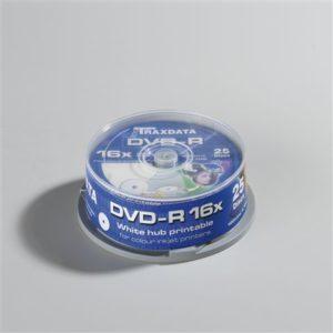 Traxdata DVD-R PRN F CAKE 25