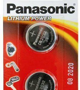 PANASONIC baterije male CR-2032EL/2B