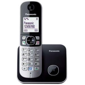 PANASONIC telefon bežični KX-TG6811FXB crni