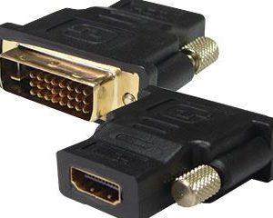 HDMI-F - DVI-M konverter F/M - RETAIL