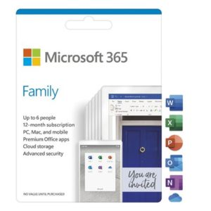 FPP Microsoft 365 Family English Subscr 1YR CEE