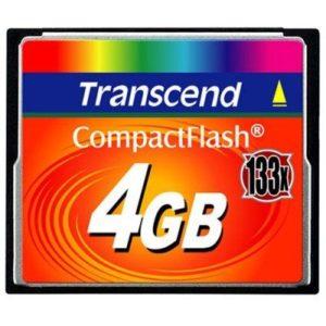 Memorijska kartica Compact Flash Transcend 4GB 133X