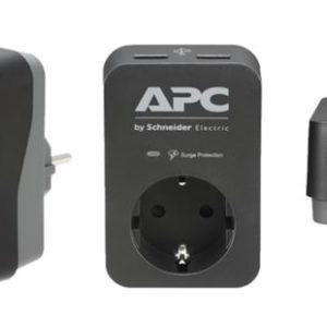 UPS APC prenaponska zaštita PME1WU2B-GR crna