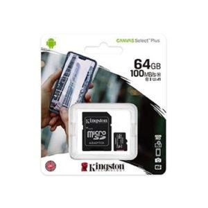 MEM SD MICRO 64GB Canvas Plus + ADP