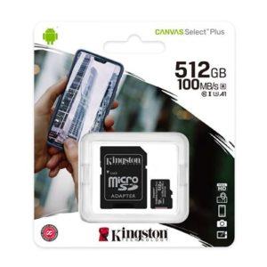 MEM SD MICRO 512GB Canvas Plus + ADP