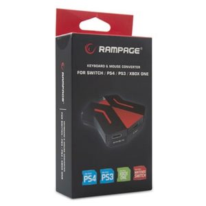 Miš i tastatura Rampage konvertor za konzole