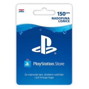 Playstation Live Cards HRK150