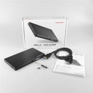 """AXAGON EE25-XA6 USB3.0-SATA 6G 2.5"""" HDD/SSD ladica za disk"""