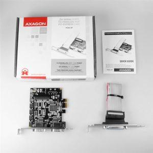 AXAGON PCEA-SP PCI-Express Adapter 2x Serial + 1x Parallel