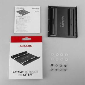 """AXAGON RHD-125B adapter za ugradnju 1x2.5"""" HDD/SSD u 3.5"""""""