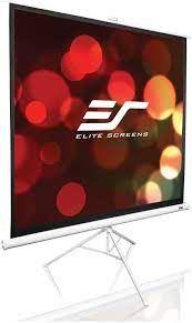 EliteScreens projekcijsko platno 243x243 cm Stalak